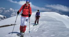 Ski guiding with the best clients in the world - Hohe Tauern Range, Austria